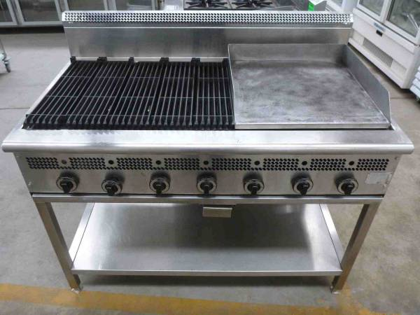 Photo of COOKON CHAR GRILL GRIDDLE COMBINATION NAT GAS