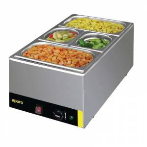 Photo of APURO SINGLE HOT WET BAIN MARIE WITH PANS / S007A