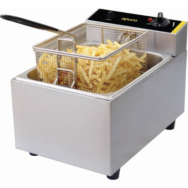 Photo of APURO 5 LITRE SINGLE ELECTRIC DEEP FRYER DL892A