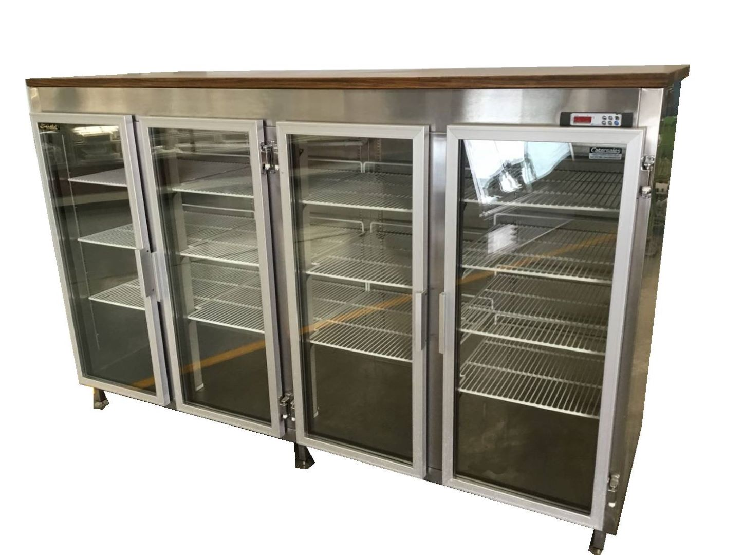 Photo of PINAKIS 4 DOOR 2000L GLASS DISPLAY FRIDGE