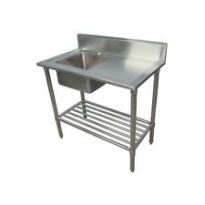 Photo of CATERSALE STAINLESS STEEL SINGLE BOWL SINK 1200MM