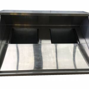 Photo of EXHAUST CANOPY STAINLESS STEEL 1800MM