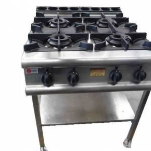 Photo of BARON 4 BURNER NATURAL GAS COOK TOP 900 SERIES