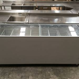 DOOR GLASS TOP FREEZER