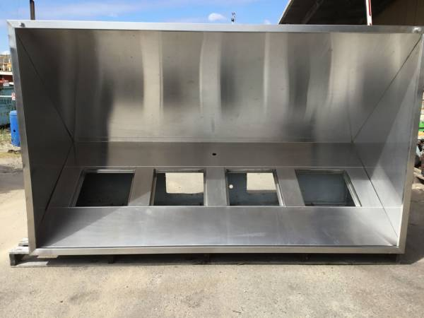 Photo of COMMERCIAL KITCHEN EXHAUST CANOPY