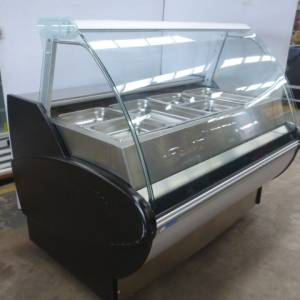 Photo of HOT CURVED GLASS DELI DISPLAY