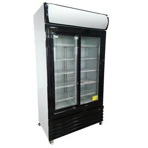 Photo of ATOSA 1000 LITRE 2 DOOR DISPLAY FRIDGE