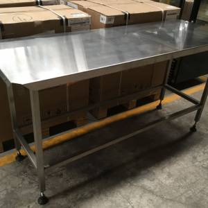 Photo of STAINLESS STEEL BENCH 1715MM X 620MM X 900MM HIGH